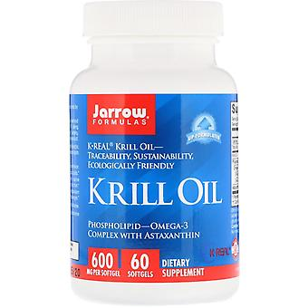 Formules Jarrow, Huile de Krill, 60 Softgels