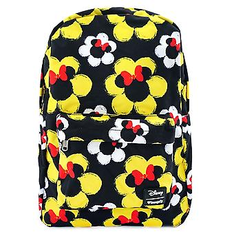 Loungefly X Disney Minnie Mouse Flowers Nylon Backpack
