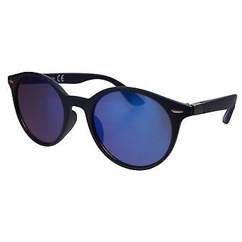 Lunettes de soleil Unisexe randonneurs noir/bleu (20-153A)