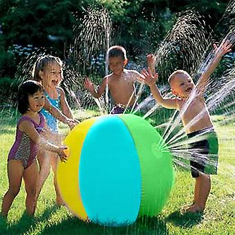 Lawn Summer Game's Toy Ball, Jet Ball Water Balloons Inflatable Pvc Water Spray