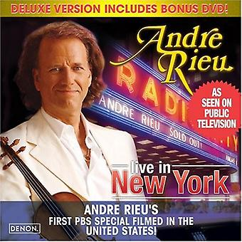 Andre Rieu - Live in New York [Deluxe Version] [CD] USA import