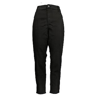 Laurie Felt Women's Pants Denim Skinny Pull-On Jeggings Black A372262