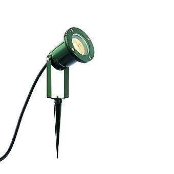 Extérieur Plancher Vert Spike Light IP65 7W Peinture verte