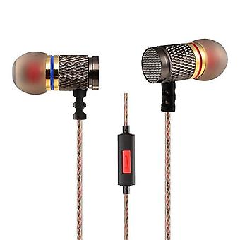 KZ EDR1 Heavy Bass In-ear Earphone With Mic For Mobile Phone Tablet PC