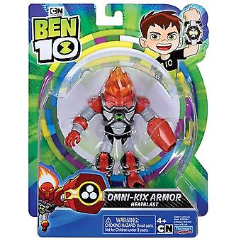 Ben 10 action figure - heatblast armor for ages 4+