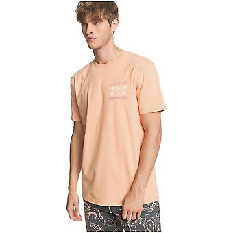 Quiksilver Slow Burn T-Shirt - Coral Sands