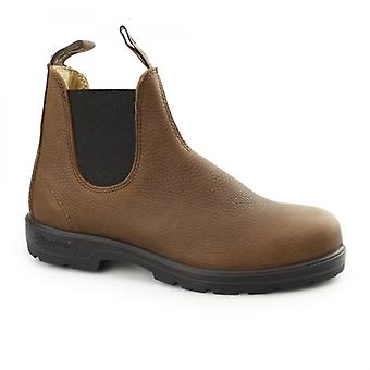 Blundstone 1445 Mens Leather Classic Chelsea Boots Grizzly Brown