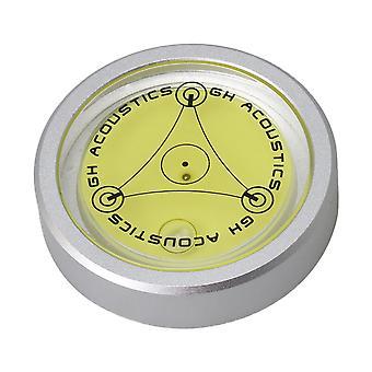 50Hz Gramofón Hi-Fi disk Stabilizátor Spirit Level pre vinylový záznam