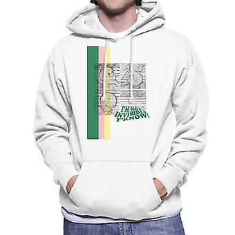 Casper The Friendly Ghost I'm Not Invisible Y'Know Men's Hooded Sweatshirt