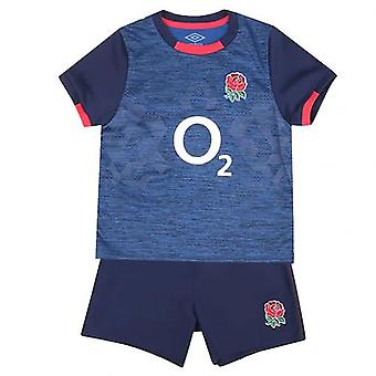 England RFU Shirt & kurze Set 12-18 Monate NV