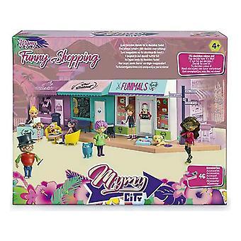 Playset Mymy City Funny Shopping Famosa