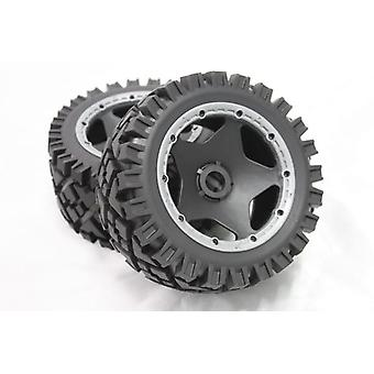 1/5 Scale  Rear Tyres For Hpi Baja 5b Ss