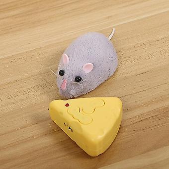 Langaton kaukosäädin Hiiri ja juusto-emulointi Trickey Kissalle / koiralle / rotalle