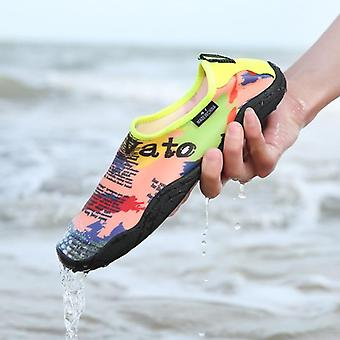 Άνδρες νερό παραλία σανδάλια γρήγορη ανάντη παπούτσια γυναίκα κολύμβησης καταδύσεις παντόφλες