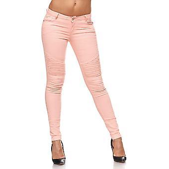 Dames Jeans broek Treggings Stretch Hipsters buis Leggings Jeggings