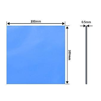 Cpu Kühlkörper Kühlung Blau, leitfähige Silikon Thermal Pad