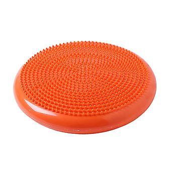 Exercise Balance pad Yoga Mat for Fitness Pilates Yoga Balance Disk Orange