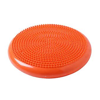 Motion Balance pad Yoga Mat for Fitness Pilates Yoga Balance Disk Orange