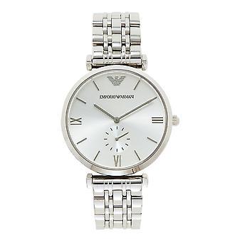 Armani Ar1819 Zilver Roestvrij Stalen Heren Horloge