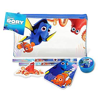 Finding Dory Childrens/Kids Flat Filled Pencil Case
