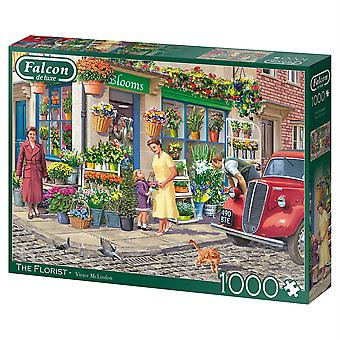 Falcon de luxe Jigsaw Puzzle 1000 pieces The Florist