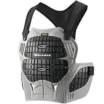Spidi IT Thorax Warrior Chest Protector PK-3 CE Level 1 Grey Black