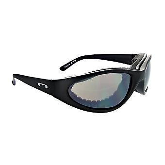 Roadwarrior smoke - classic wrap design smoke lens sunglasses