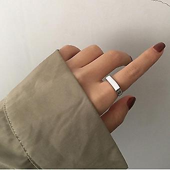 الاسترليني الفضة المفتوحة خاتم