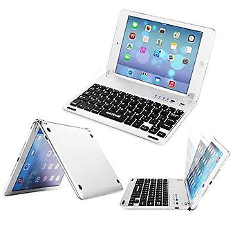 Arteck ipad mini 5 / mini 4 toetsenbord, ultradunne apple ipad mini bluetooth toetsenbord folio stand groo