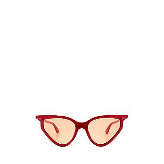 Balenciaga BB0101S red female sunglasses