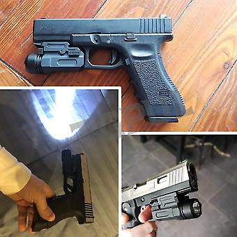 Airsoft Mini Pistol Light, Quick Detach Handgun, Flashlight Led Rifle Gun,