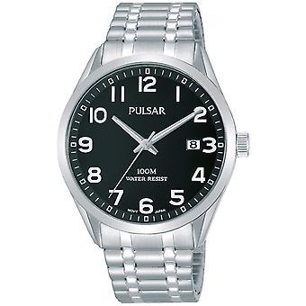 Mens Watch Pulsar PS9563X1, Quartzo, 39mm, 10ATM