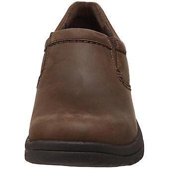 Dansko Mens Wynn Distressed Leather Slip On Casual Clogs