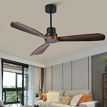 مراوح سقف خشبية مع جهاز تحكم عن بعد للمنزل / غرفة نوم / غرفة معيشة