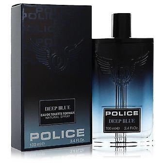 Полиция темно-синий eau de toilette спрей полицией одеколоны 555065 100 мл