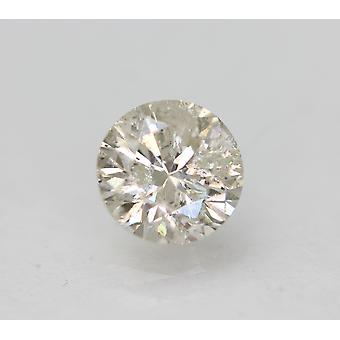 Zertifiziert 0,90 Karat H Farbe SI3 Runde brillante natürliche lose Diamant 5,99m 3VG