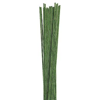 Alambre Floral Verde Oscuro - Calibre 18 (1.2mm)