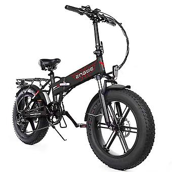 Electric Bike Fat Tire Snow Powerful Electric Bicycle 39km/h Mountain