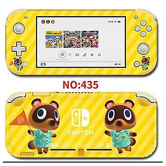 Βινυλίου οθόνη δέρμα ζώο διέλευσης προστάτη αυτοκόλλητα για Nintendo Switch Lite