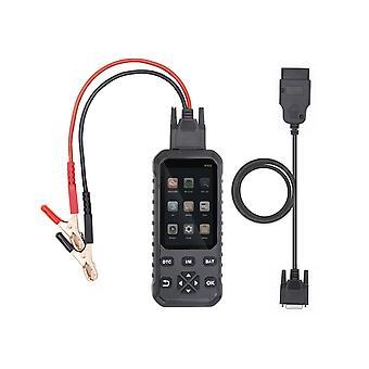 Universal 2 en 1 obdii obd scanner code lecteur de voiture scanner outil de diagnostic et détecteur de batterie auto code-lecteur