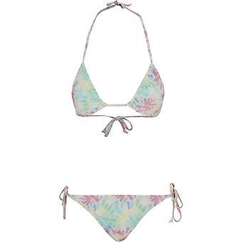 Urban Classics Ladies - TIE DEY Swimwear Bikini pastel