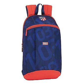 Casual backpack atlético madrid 1903 blue red