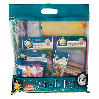 Craft Planet Girls Goody Bag Filled With Art And Crafts