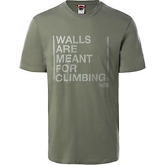 Les murs du visage nord sont destinés à l'escalade T93S3SV38 t-shirt homme universel