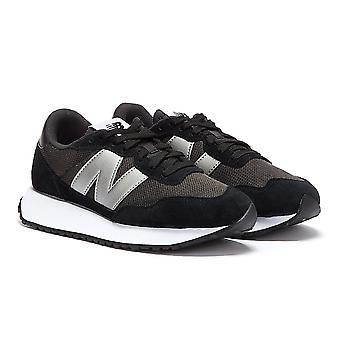 New Balance 237 Femmes Noir / Silver Trainers