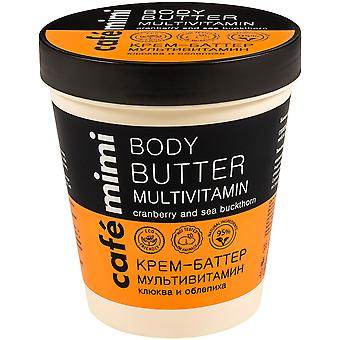 Cafe Mimi Multivitamin Body Butter 220 ml