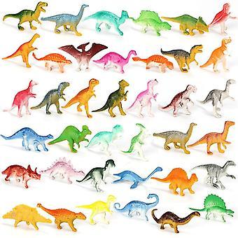 10pcs Mini Dinosaur's Educational Small Simulation Figures