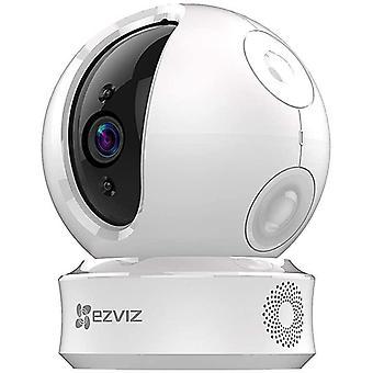 HanFei C6C 720p berwachungskameras (WiFi Dome Schwenk/Neige Kamera mit Nachtsicht, Zwei-Wege-Audio,