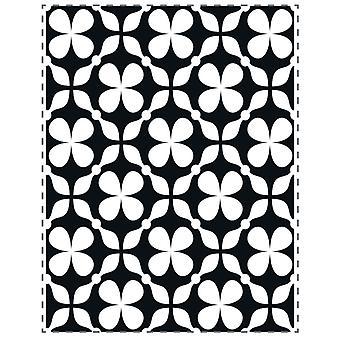 Ultimate Crafts Embossing Folder - Clover Quilt