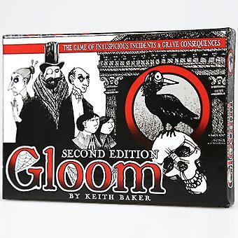 משחק קלפים במהדורה שנייה קודר